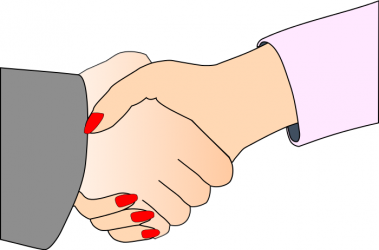 Men, please stop forcing us to shake your hands
