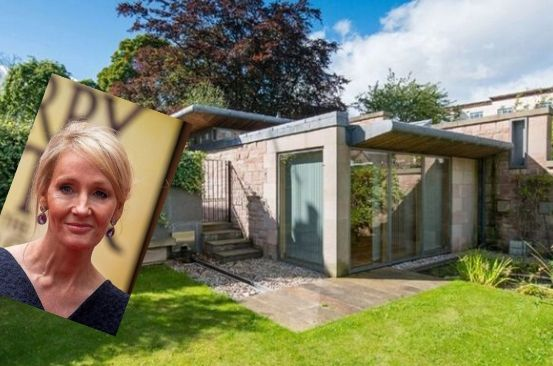 Inside JK Rowling's Sh290 million mansion where she penned four Harry Potter books
