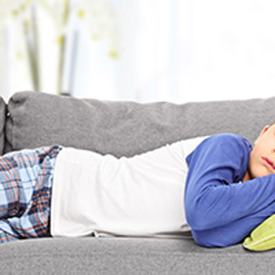 Sleeping your child on sofas