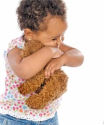 Is your child addicted to her cuddly toy or blanket