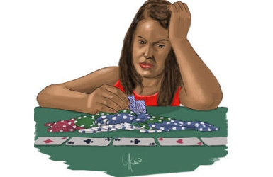 I've gambled off his Sh3M and I'm afraid of what he'll do