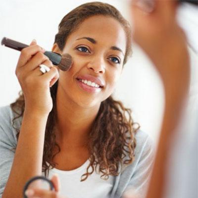 make up; hair care