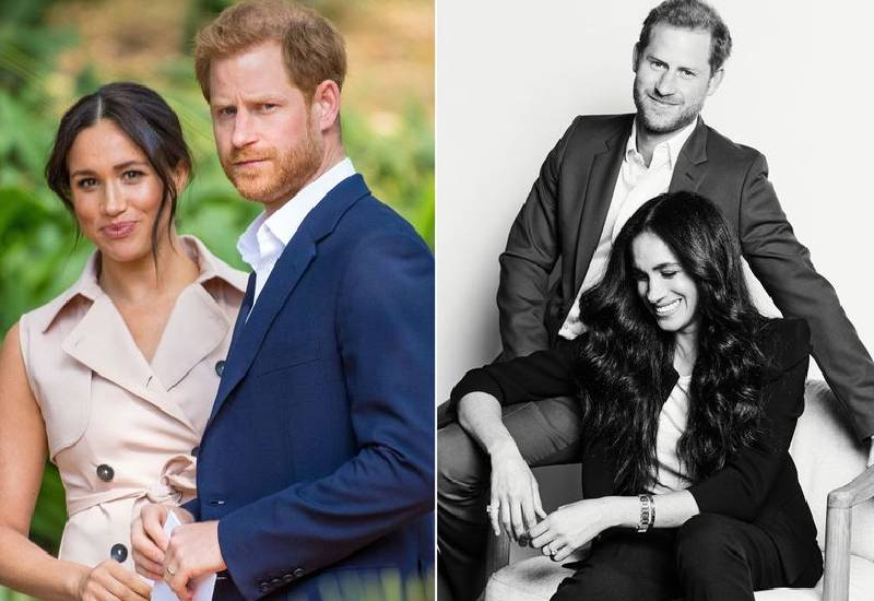 Meghan Markle and Harry share new official photo - and it's very different to royal snaps