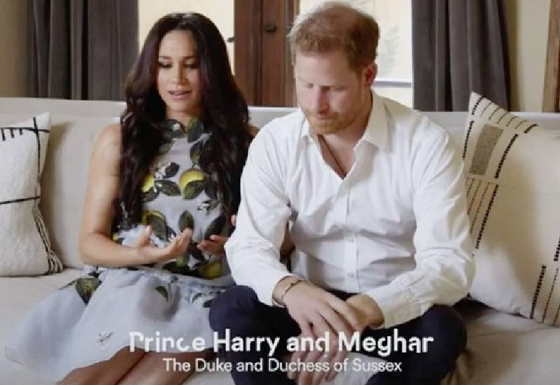 Meghan Markle 'hints at baby gender' with huge 'ethically sourced' sapphire ring
