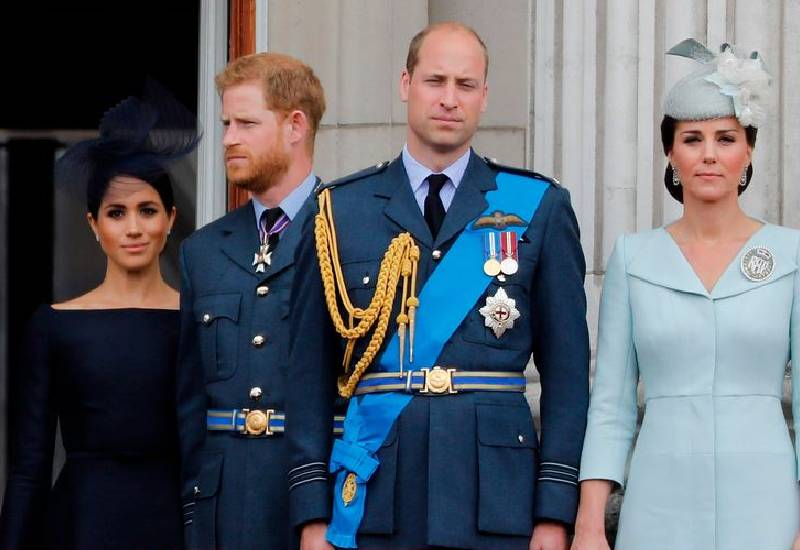 Prince William refused to eat with Harry at Megxit summit