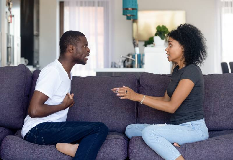 What you shouldn't do if you disagree with your spouse
