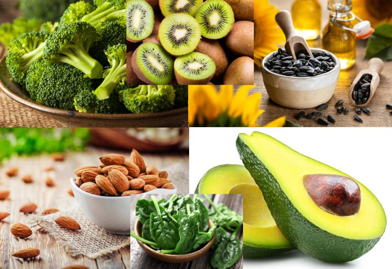 Six vitamin E rich foods for healthy skin and hair