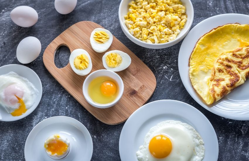 Ten different ways to cook eggs for breakfast