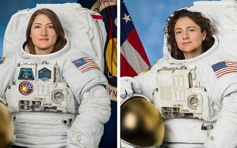 Achieving women: NASA makes history with first ever all-female spacewalk from ISS