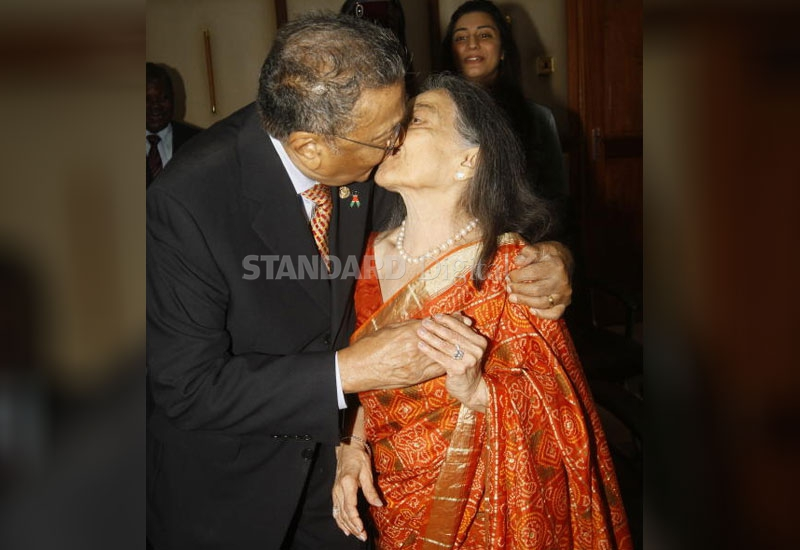 Business magnate Manu Chandaria legalises 64-year marriage in Sh10, 000 ceremony