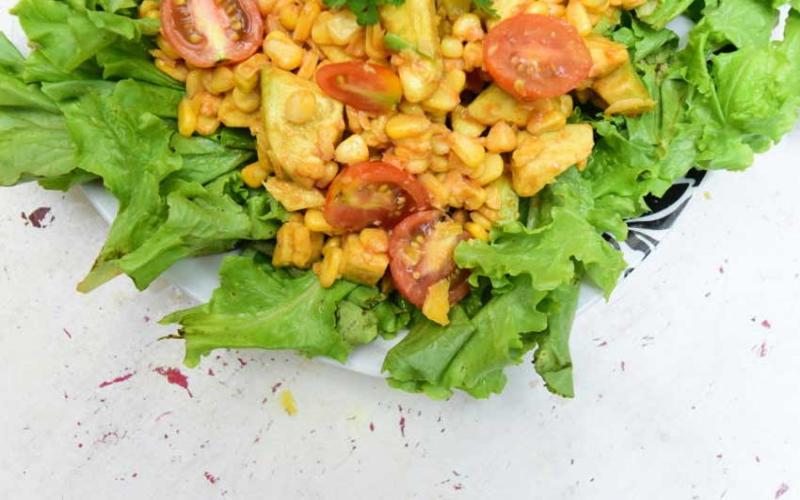 Easy recipe: Avocado sweet corn salad