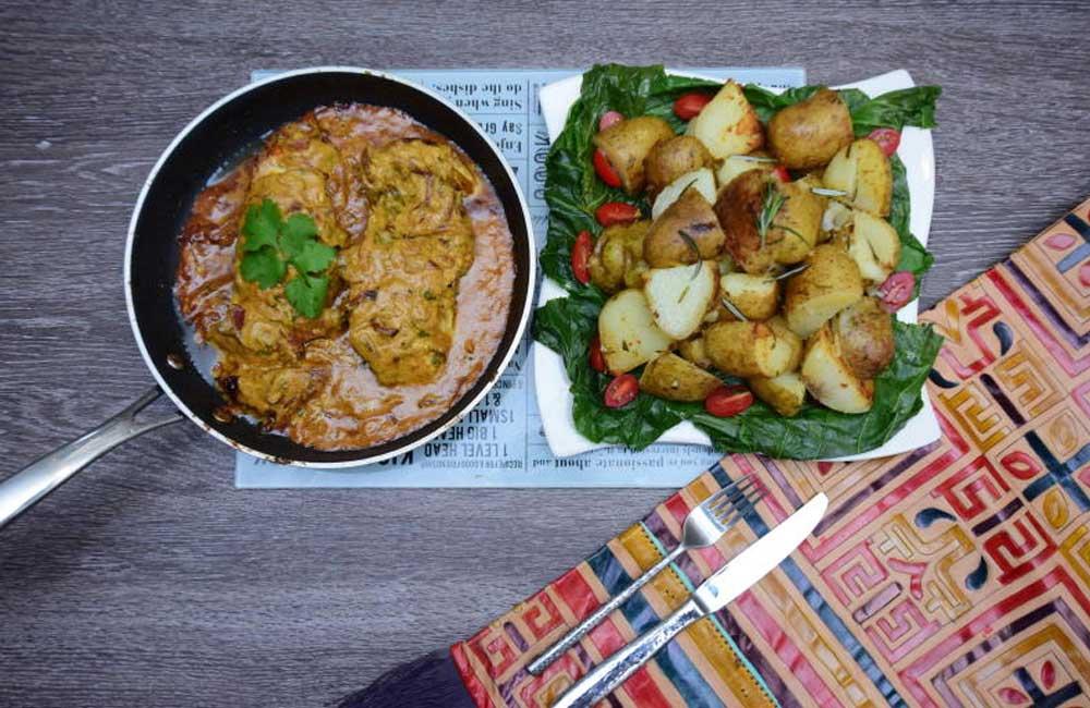 Easy recipe: Chicken breast in tangy coconut sauce