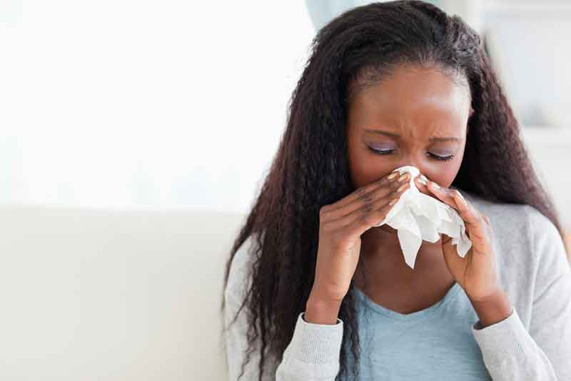 Five reasons why you always seem to catch a cold