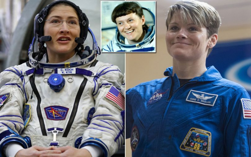 NASA's all-female spacewalk to coincide with Women's History Month