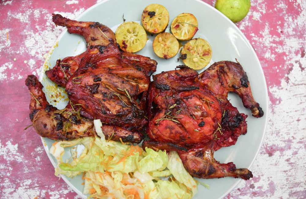 Simple Peri Peri chicken recipe- You will want to eat the bones too!