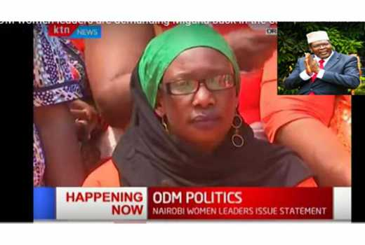 Video: Nairobi women demand that Miguna be brought back to Kenya immediately