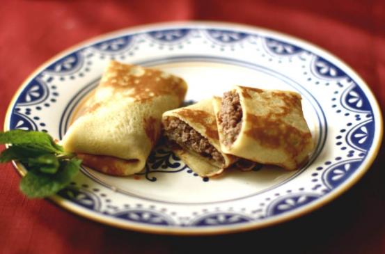 Meat pancakes