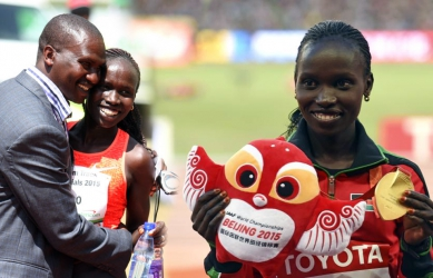 Vivian Cheruiyot- How I lost 17kgs to bring gold medal home