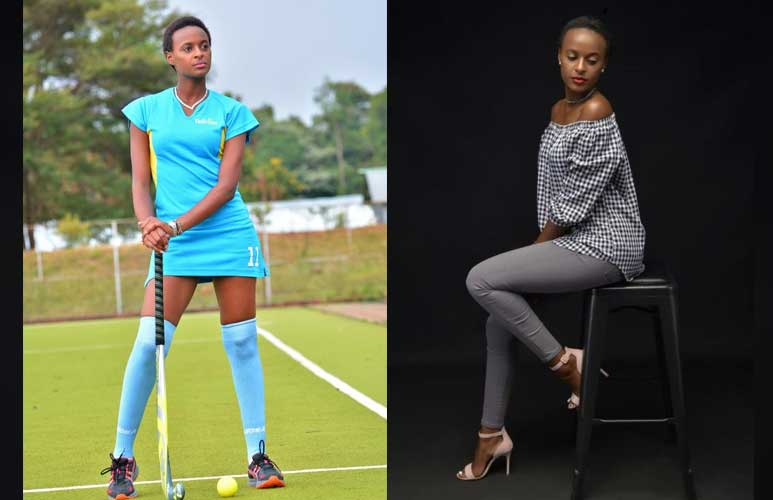 Achieving woman: Hockey superstar Wangechi stuns in beauty and style