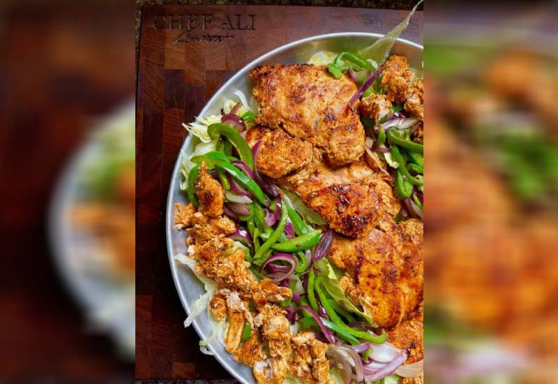Easy recipe: Boneless tikka with veggies salad