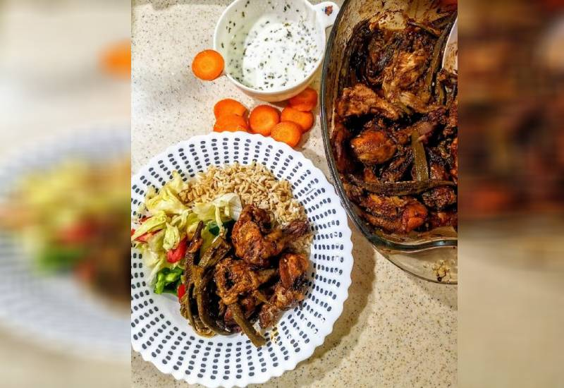Easy recipe: Chicken wings with okra