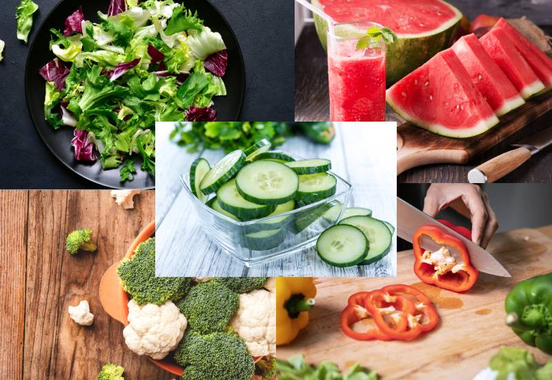 Foods that will keep you hydrated other than water