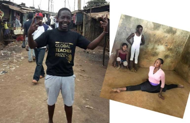 I teach ballet in the slums to give hope, not to gain fame says KSh100 Million Global Teacher nominee Mike Wamaya
