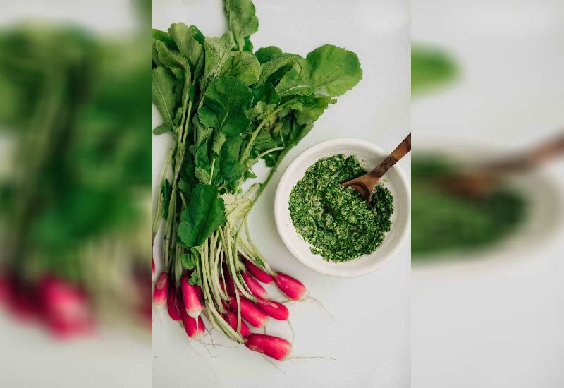 Ingredient of the week: Radish leaves