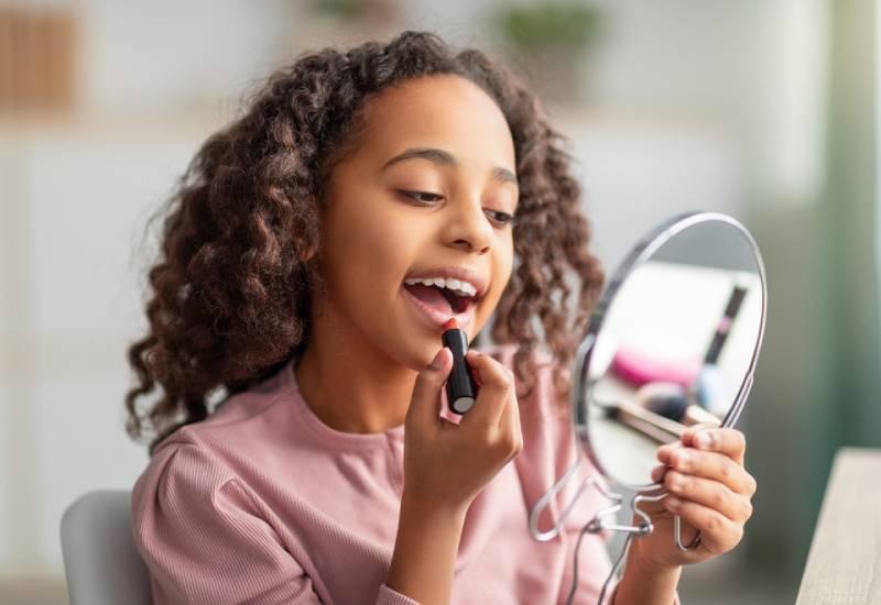 Is makeup safe for kids?