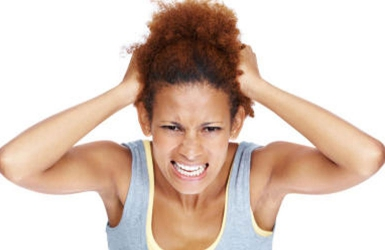Itchy scalp after exercise?