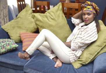 Jacky Vike aka Awinja opens up about her childhood and motherhood journey