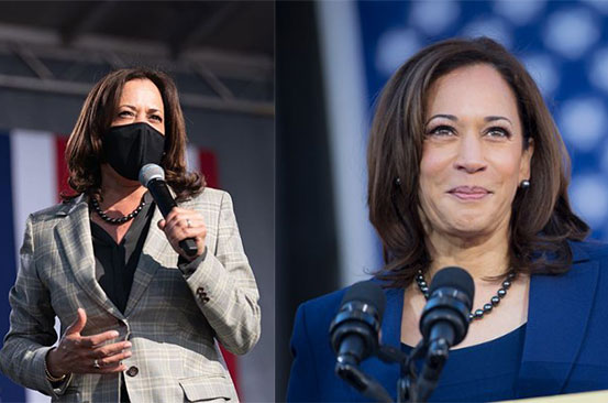 Kamala Harris elected first female vice-president of the US