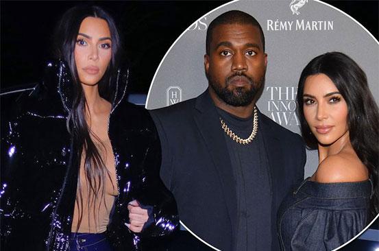 Kim Kardashian breaks cover without wedding ring before filing divorce bombshell