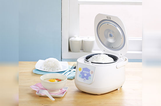 Kitchen gadget: Rice cooker