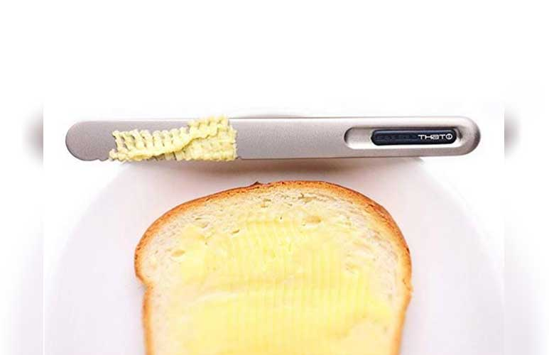 Kitchen gadget: Self-heating butter knife
