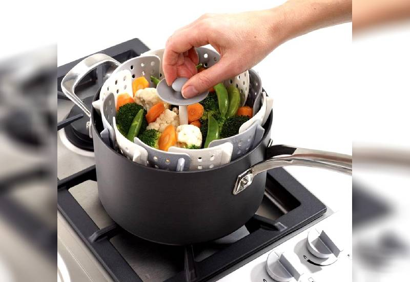 Kitchen gadget: Vegetable cooking basket