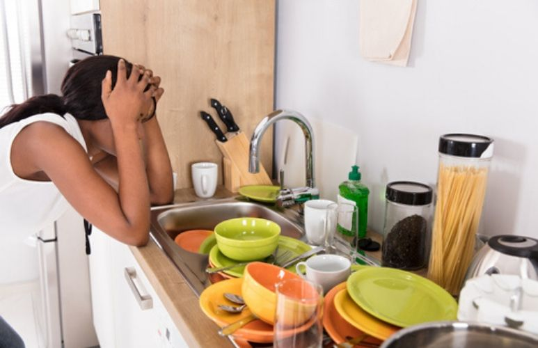 Man tells wife he's refusing to help with any housework until the children do too