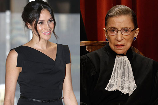Meghan Markle issues public statement after death of Ruth Bader Ginsburg
