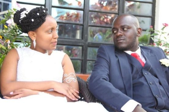 Nuptials: Couple holds 30-minute wedding worth Sh80k with nine guests