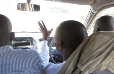 Of my journey to Budalangi and the driver's seat