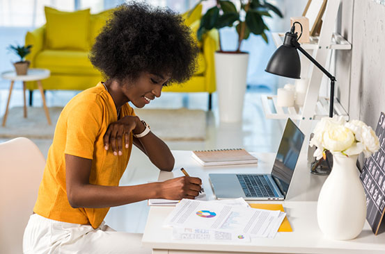 Seven tips to stay healthy while working from home