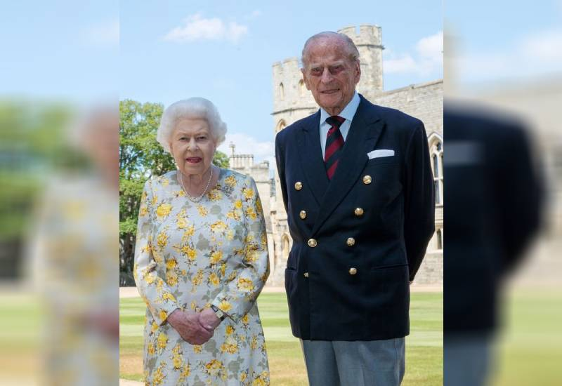 The Queen's response when Prince Philip snapped 'Oh, do shut up, you silly woman'