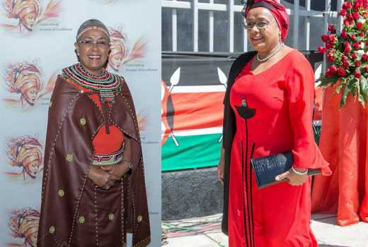 Happy Birthday Mama Taifa! Margaret aging like fine wine, turns 54
