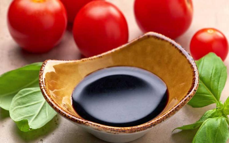 Balsamic vinegar, the king of vinaigrettes