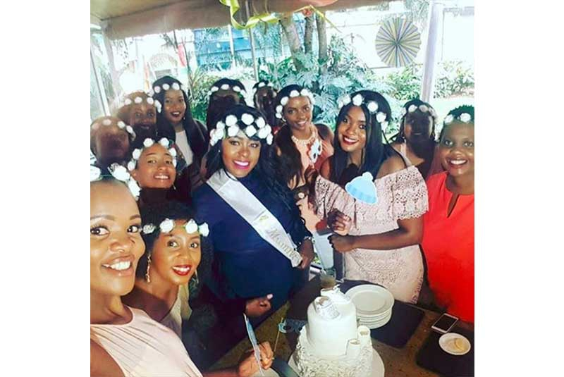 It was pomp and colour at Lillian Muli's surprise baby shower