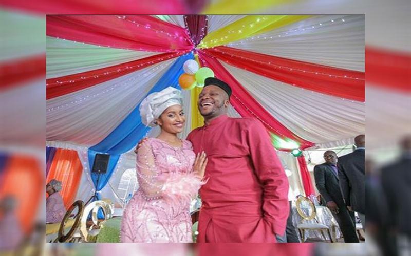 Meet Amina Chao, Jalang'o's new bride