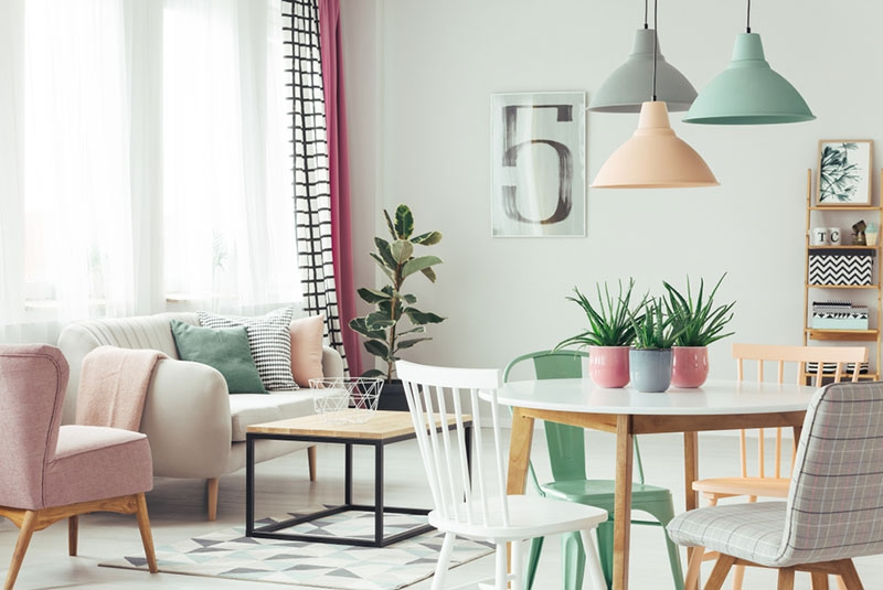 Love mint green? How to use this fresh colour in your home