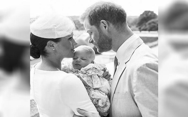 Prince Archie's christening: Meghan Markle and Prince Harry share official pictures