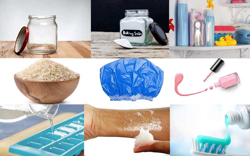 Unusual uses for ordinary household items