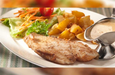 How about this delicious Butter fish with cream sauce